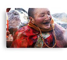 Tibetan Elder Canvas Print