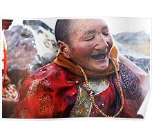 Tibetan Elder Poster