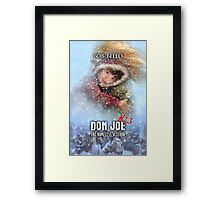 Don Joe #23 Framed Print