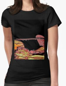 BLACK - TWO FROGS... Womens Fitted T-Shirt