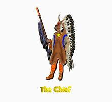 A Mandan Red Indian Chief, Rocky Mountains, North America Unisex T-Shirt