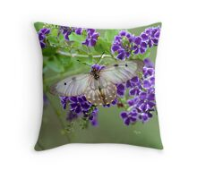 """Sheer Beauty"" Throw Pillow"