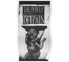 THE POWER TO COMMUNICATE BEGAN WITH THE SOUND OF PAIN Poster