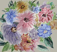 Mountain Flowers 2 by Thecla Correya