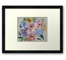 Mountain Flowers 2 Framed Print