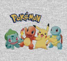 Pokémon T-Shirt by Enriic7