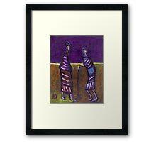 AFRICANS Framed Print