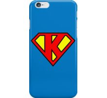Superman K iPhone Case/Skin