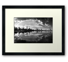 Cloud Burst Framed Print