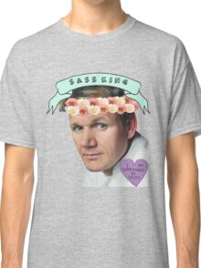 Gordon Ramsay Flower Crown Sass Classic T-Shirt