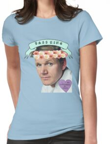 Gordon Ramsay Flower Crown Sass Womens Fitted T-Shirt