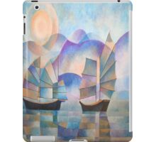 Shades of Tranquility - Cubist Junks iPad Case/Skin