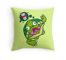 How's The Soup Throw Pillow