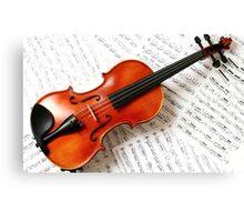 Tshirts & Hoodies violin  Canvas Print