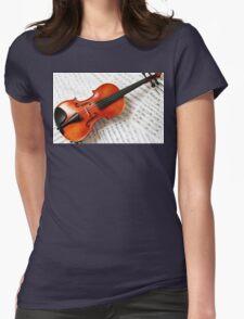 Tshirts & Hoodies violin  Womens Fitted T-Shirt