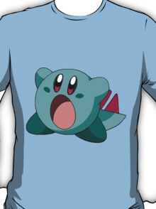 When Kirby meets Totodile T-Shirt