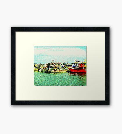 Harbour Haven Framed Print