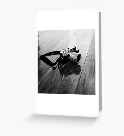 Leica M6 Greeting Card