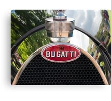 Bugatti Grille Marque1 Canvas Print