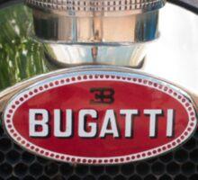 Bugatti Grille Marque1 Sticker