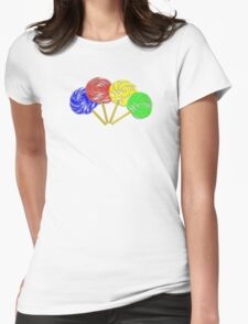 Lollypop Womens Fitted T-Shirt