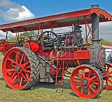 Steam Traction Engine by Mark Whittle