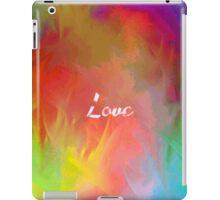 Multi-Colored Love  iPad Case/Skin
