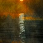 Atlantic Ocean. Moonlight by Nellie Vin