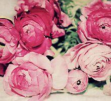 Pink Ranunculus Bouquet by mallorybottesch