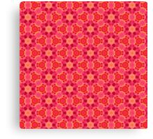 Red Pattern Canvas Print