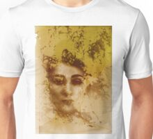 Experimental darkroom portrait Unisex T-Shirt
