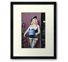 Manuel Who ? - Framed Print