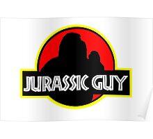 Jurassic Guy (Jurassic Park) Poster