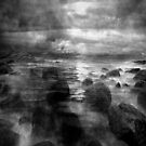 Atlantic Ocean. Evening.Black and White by Nellie Vin