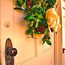 Church Door by Wendy Mogul