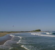 Afternoon At Nobby's Beach by reflector