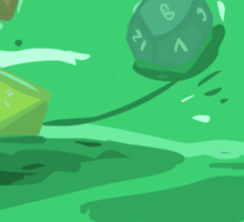Gelatinous Cube - I don't think you're ready for this jelly (Light) Sticker