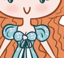 Lil' CutiE - Curtains Princess Sticker