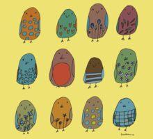 assorted birds Kids Clothes