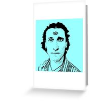 David Collins (The Umbilical Brothers) Greeting Card