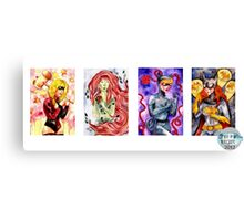 Gotham Girls Canvas Print