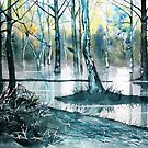 """Wetlands, Skipwith Common"" by Glenn  Marshall"