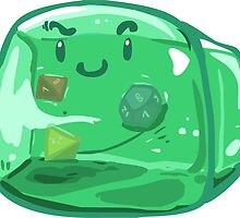 Gelatinous Cube - I don't think you're ready for this jelly by whimsyworks