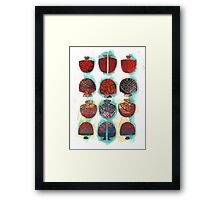 Multifaceted No.1 (Light, Time & Facade Series) Framed Print
