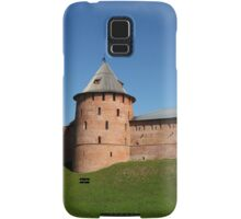 View of the fortress wall of the Novgorod Kremlin Samsung Galaxy Case/Skin