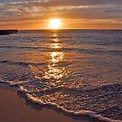 Trigg Beach Sunset  by EOS20