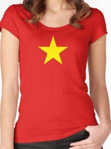 Vietnam Flag Women's Fitted Scoop T-Shirt