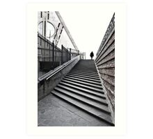 Perspective stairway Art Print