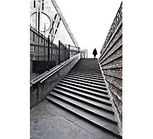 Perspective stairway Photographic Print