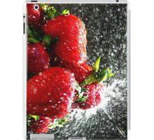 Strawberry Splatter iPad Case/Skin